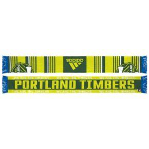 Adult adidas Portland Timbers Team Slogan Scarf