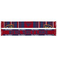 Adult adidas Real Salt Lake Team Slogan Scarf