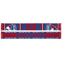 Adult adidas FC Dallas Team Slogan Scarf