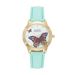 Laura Ashley Women's Butterfly Watch
