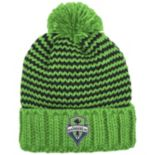 Adult adidas Seattle Sounders Cuffed Beanie