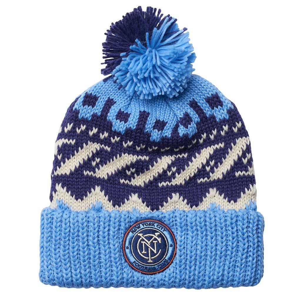 Men's adidas New York City FC Knit Beanie