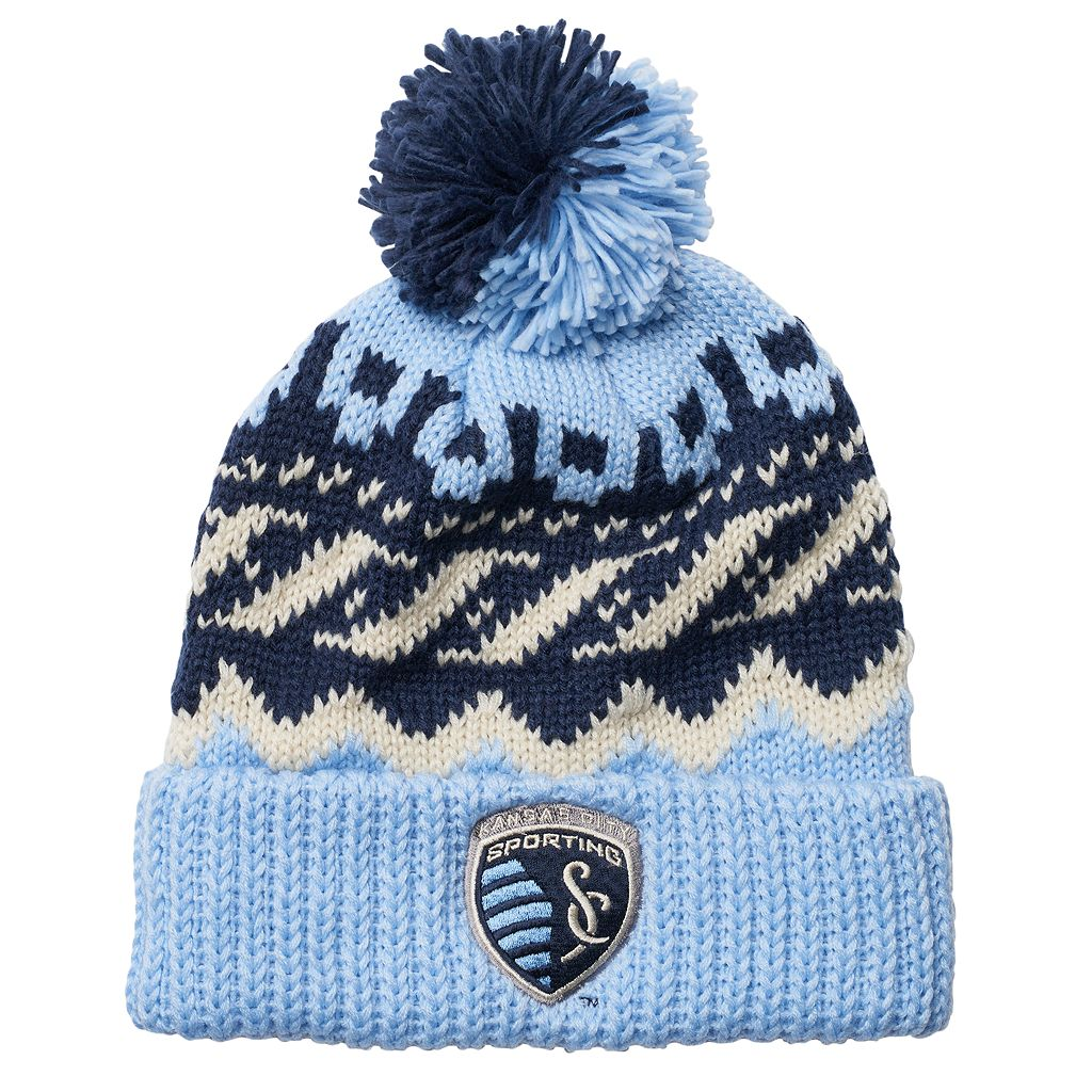 Men's adidas Sporting Kansas City Knit Beanie