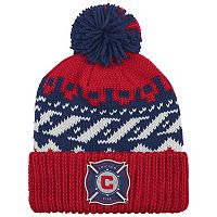 Adult adidas Chicago Fire Cuffed Beanie