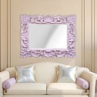 Stratton Home Decor Elegant Ornate Wall Mirror