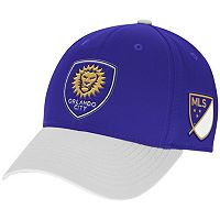 Adult adidas Orlando City SC Authentic Team Flex-Fit Cap