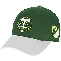 Adult adidas Portland Timbers Authentic Team Flex-Fit Cap