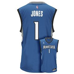 Men's adidas Minnesota Timberwolves Tyus Jones Replica Jersey