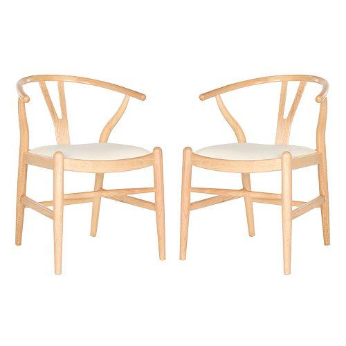 Safavieh Aramis Dining Chair 2-piece Set