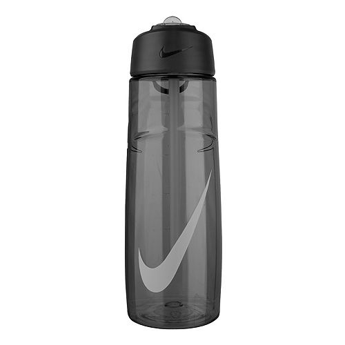 Nike 24-oz. T1 Flow Swoosh Wolf Gray Water Bottle