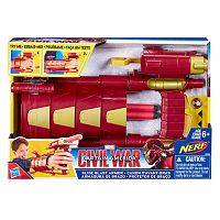 Captain America: Civil War Iron Man Slide Blast Armor by Nerf