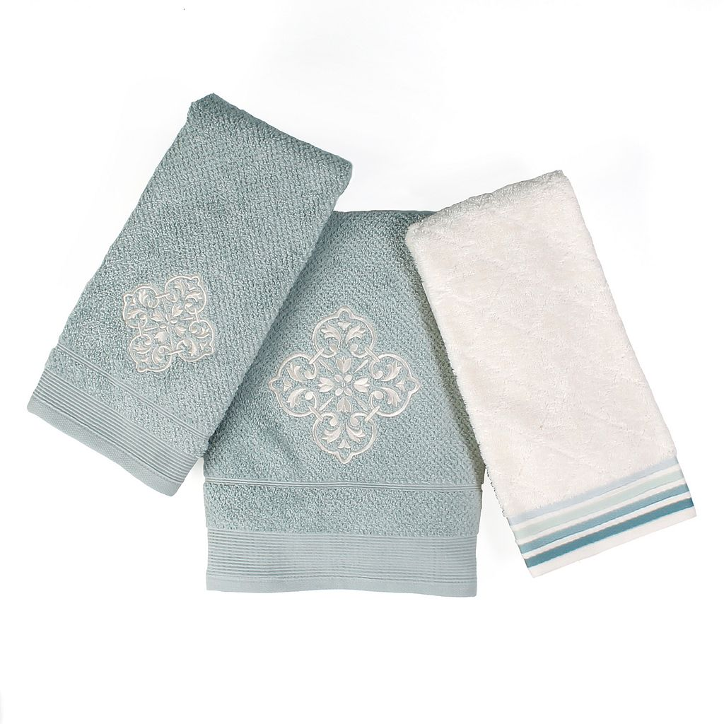 Saturday Knight, Ltd. Modena Jacquard Hand Towel