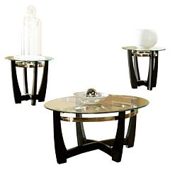Matinee Coffee & End Table 3 pc Set
