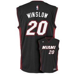 Men's adidas Miami Heat Justise Winslow Replica Jersey