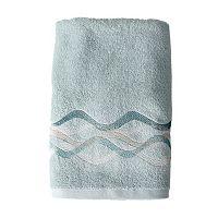 Saturday Knight, Ltd. Sketchbook Waves Towel