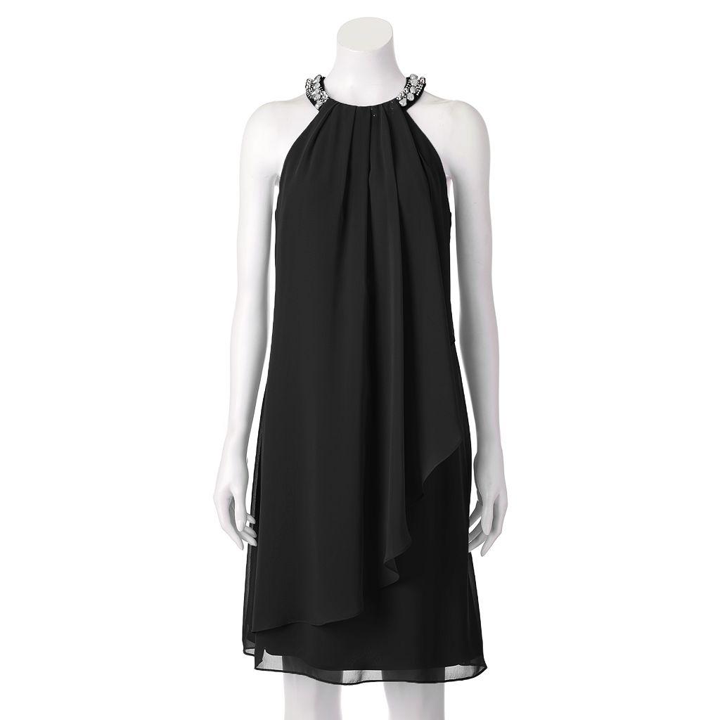 Women's Scarlett Beaded Halter Dress