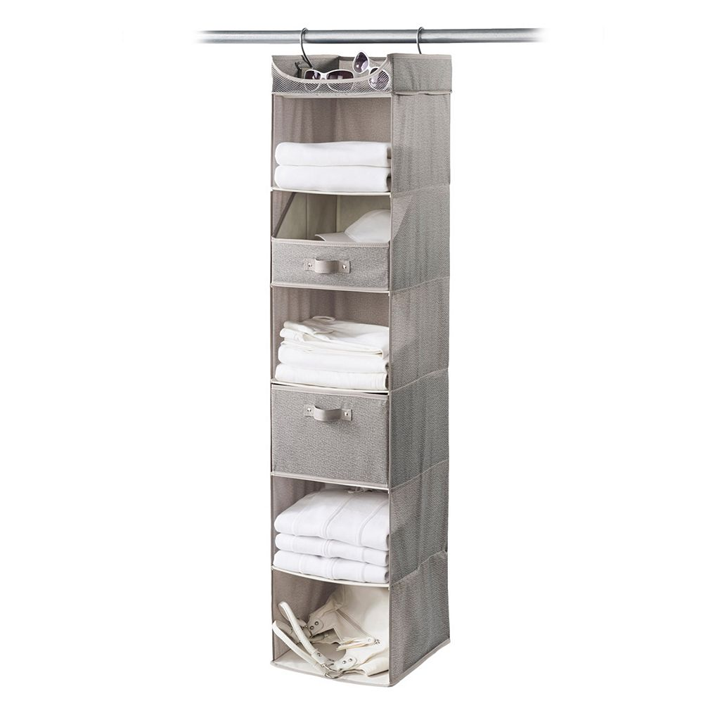 Neatfreak Harmony Twill 6 Shelf Closet Organizer