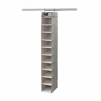 Neatfreak Harmony Twill 10 Shelf Closet Organizer