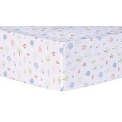 Trend Lab Forest Tales Fitted Crib Sheet