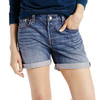 Women's Levi's 501 CT Cuffed Jean Shorts