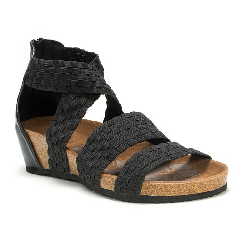 MUK LUKS Elle Women's Wedge Sandals