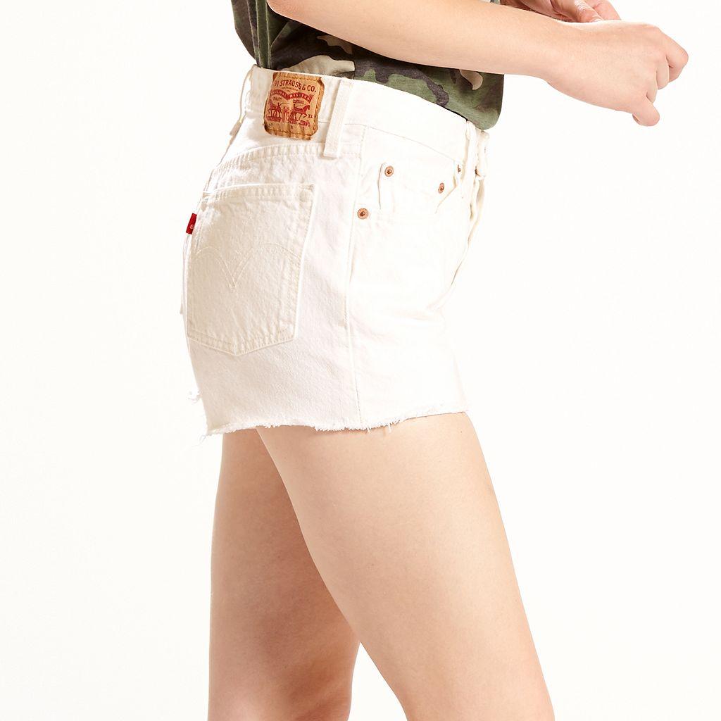 Women's Levi's 501 Ripped Jean Shorts