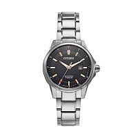 Citizen Eco-Drive Men's TI + IP Super Titanium Watch - AW1490-50E