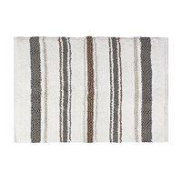 Saturday Knight, Ltd. Colorware Stripe Bath Rug