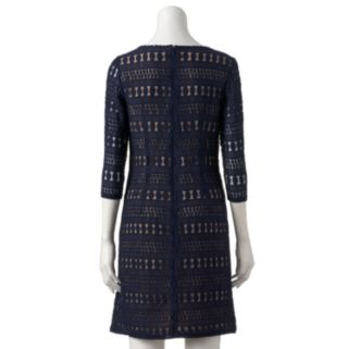 Women's Sharagano Lace Shift Dress