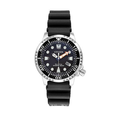 Citizen eco drive men 39 s promaster professional dive watch bn0150 28e for Watches kohls