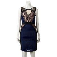 Women's Jax Illusion Lace Sheath Dress