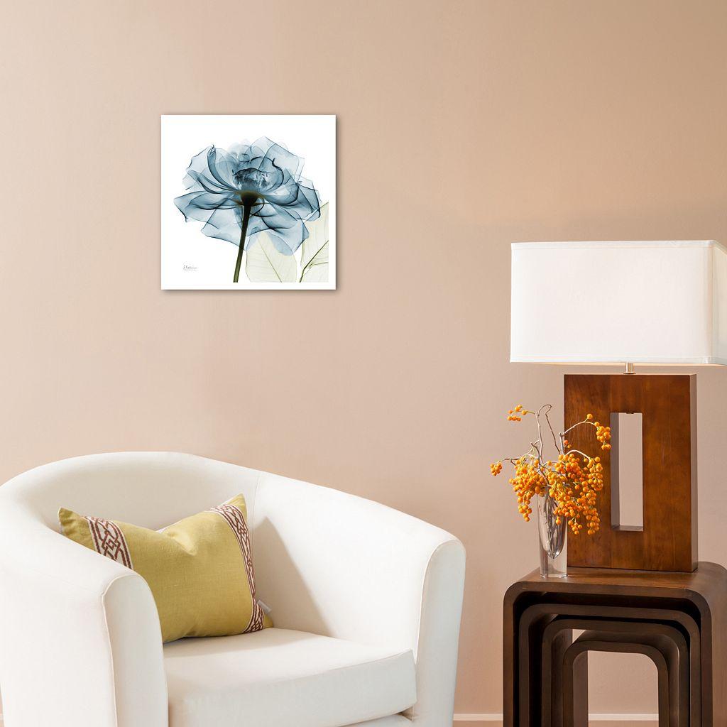 Art.com Blue Rose Wall Art Print