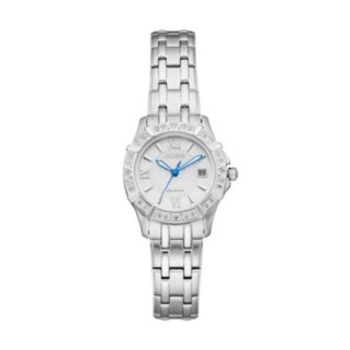 Citizen Eco-Drive Women's Diamond Stainless Steel Watch - EW2360-51A