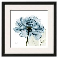 Art.com Blue Rose Matted Framed Wall Art
