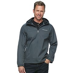 Big & Tall Columbia Smooth Spiral Hooded SoftShell Jacket