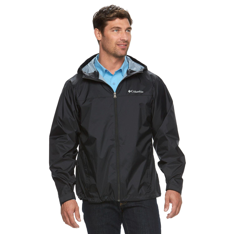 Big \u0026 Tall Columbia Weather Drain Rain Jacket