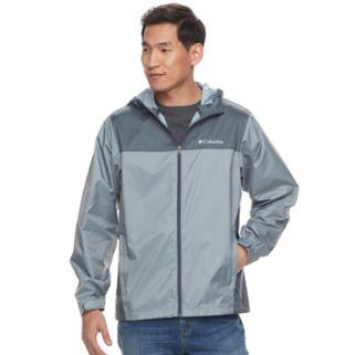 Big & Tall Columbia Weather Drain Rain Jacket
