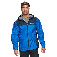 Big & Tall Columbia Weather Drain Rain Jacket