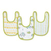 aden by aden + anais 3-pk. Muslin Little Bibs