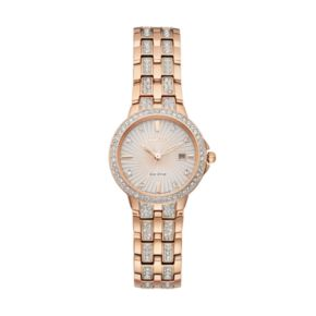 Citizen Eco-Drive Women's Silhouette Crystal Stainless Steel Watch - EW2348-56A