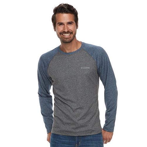 Big & Tall Columbia Wildberry Classic-Fit Omni-Wick Raglan Tee