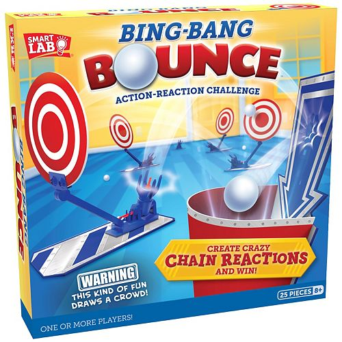 Bing Bang Bounce Action Reaction Lab by Smartlab Toys