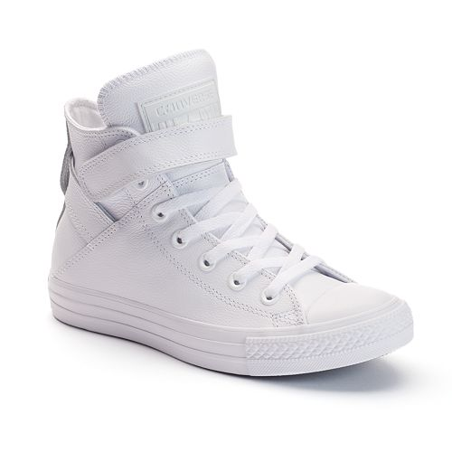 01047f7f80d3 Women s Converse Chuck Taylor All Star Brea Leather High-Top Sneakers