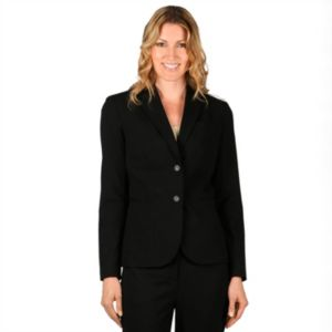 Women's Larry Levine Essential Solid Blazer