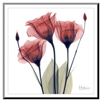 Art.com Gentian Trio Wall Art Print
