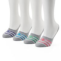 Women's Champion 4-pk. Striped No-Show Liner Socks