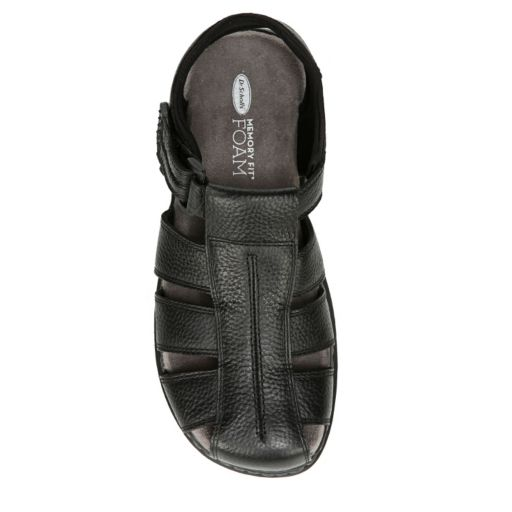 Dr. Scholl's Gaston Men's Leather Fisherman Sandals