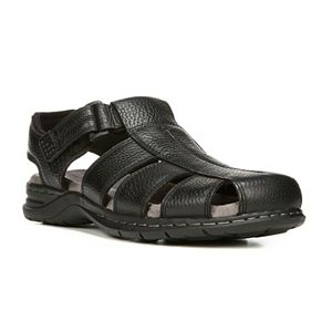 Dr. Scholl's Gaston Men's Leather Fisherman Sandals