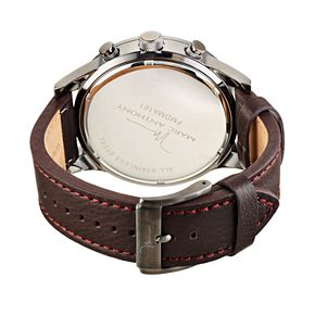 Marc Anthony Men's Modern Masculinity Leather Watch