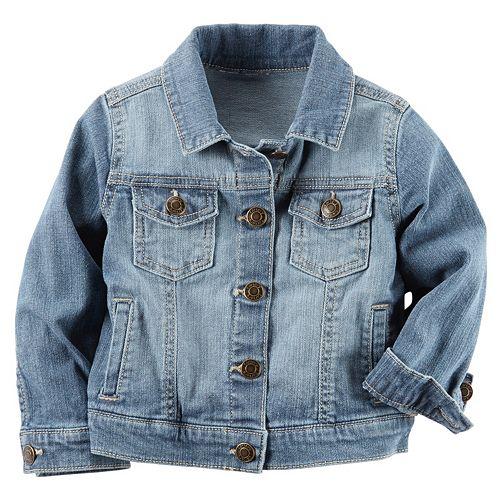 Girls 4-8 Carter's Denim Jacket